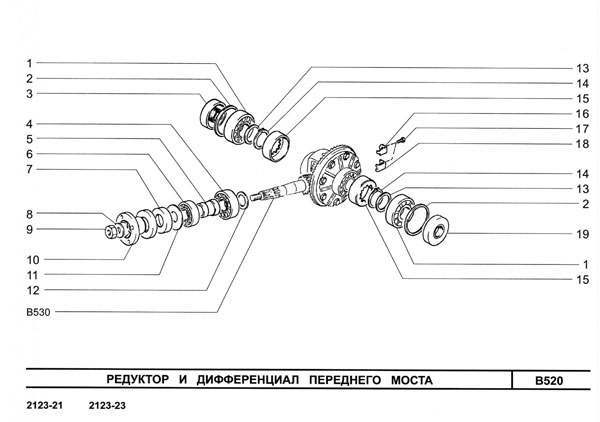 Каталог Нива Шевроле 2123