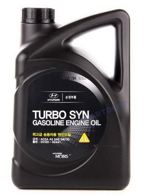 Hyundai Turbo SYN SAE 5W-30 SM / GF-4 / ACEA A5 (4л) 05100-00441
