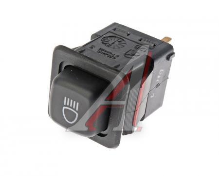 Выключатель света фар с внутренней подсветкой 375.3710-04.06 ВАЗ 2108-2109, М-2141, ЗАЗ, Напряжение 12В 375.3710-04.06