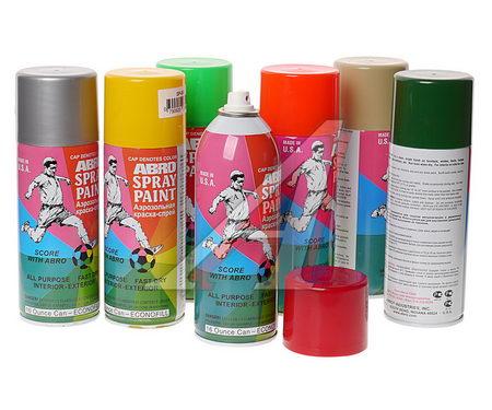 Краска-спрей АBRO стандарт бежевая (473мл) 95R