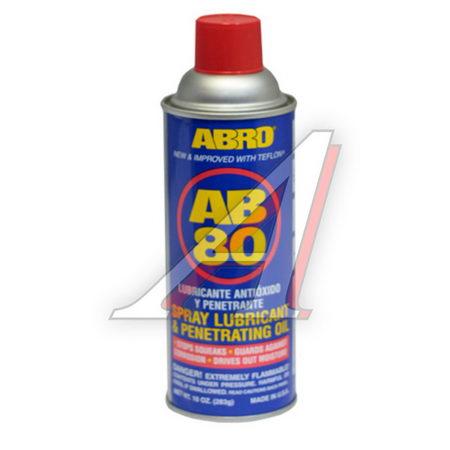 Смазка - спрей универсальная AB-80 с тефлоном, 400мл AB-80