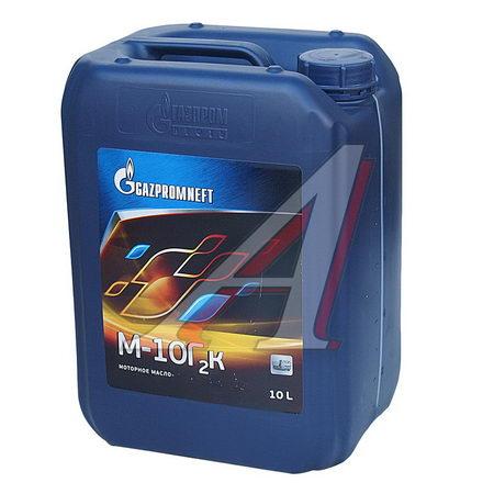 Масло дизельное М10Г2К мин. 9.30кг/10л GAZPROMNEFT 2389901258