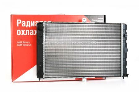 Радиатор охлаждения (2-рядный) ВАЗ-21083, 21099, 2114, 2115 ДЗР 21082-1301012 / 21082130101200