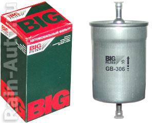 Фильтр топливный Г-(инж.) (хомут) BIG FILTER метал., Г-дв.406 GB-306