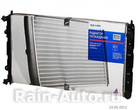 Радиатор охлаждения (2-рядный) ВАЗ-2123, 2120 ДЗР 2123-1301012 / 21230130101200