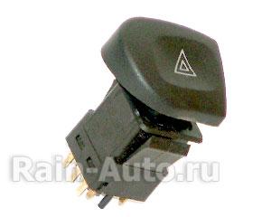 Выключатель аварийного сигнала 2123 Chevy Niva в сборе 379.3710М 379.3710М