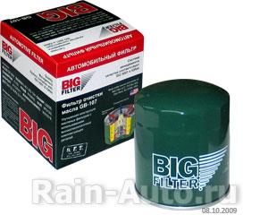 Фильтр масляный Г-дв.406 BIG FILTR, Г-дв.406 GB-107