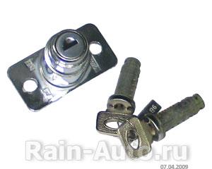Личинки замков двери и багажника (кт. 3 шт.) ВАЗ-21099 (ДААЗ),  21099-6100045-10 / 21099610004510