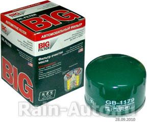 Фильтр масляный BIG GB-1179