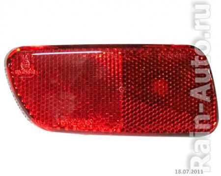 Катафот заднего бампера 1119 левый ДААЗ 1119-3716139 / 11190371613900