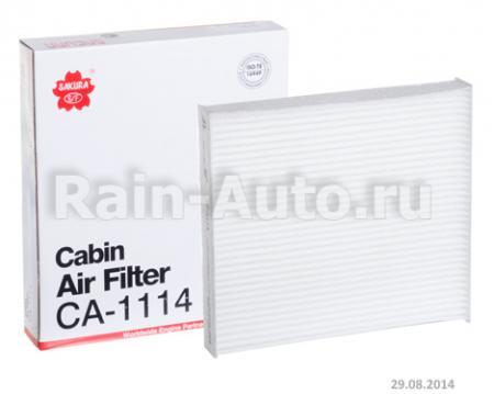 САЛОННЫЙ ФИЛЬТР AC108 (СA1112) CA1114