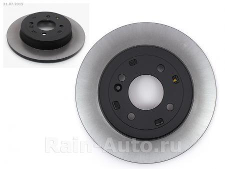 HYUNDAI Solaris диск тормозной задний, заказывать 2 шт / Солярис 584110U300