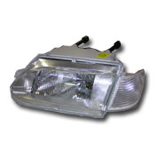 Блок-фара с белым указателем поворота ВАЗ 2114, ВАЗ 2115, Прим. 12В 676 512 053-02