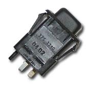 Выключатель противотуманных фонарей с внутренней подсветкой 375.3710-06.02 ВАЗ 2108-2109, М-2141, ЗАЗ, Напряжение 12В 375.3710-06.02