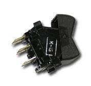 Кнопка вентилятора печки Г-66, КАМАЗ (П147-04.11) П-147-04-11