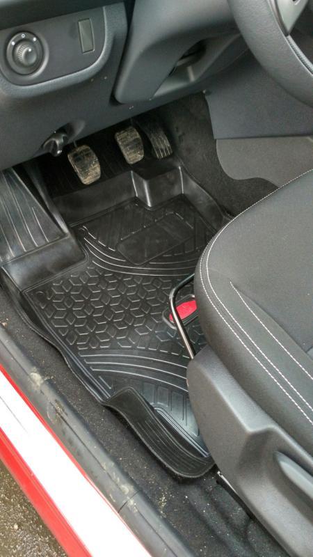 Коврики в салон резина Renault Logan седан 2013- A.005.0813.K