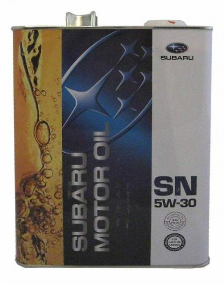 Моторное масло SUBARU SAE 5W30 SN, 4 л, K0215-Y0273
