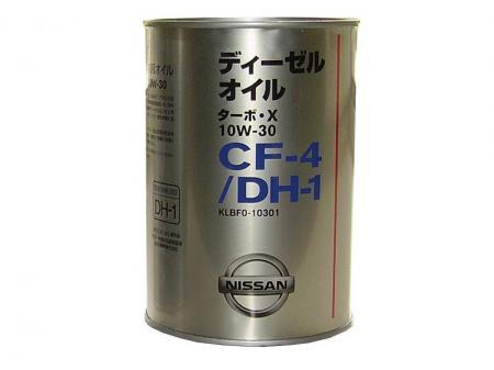Моторное масло NISSAN Turbo X SAE 10W-30 CF-4 (1л) KLBF0-10301