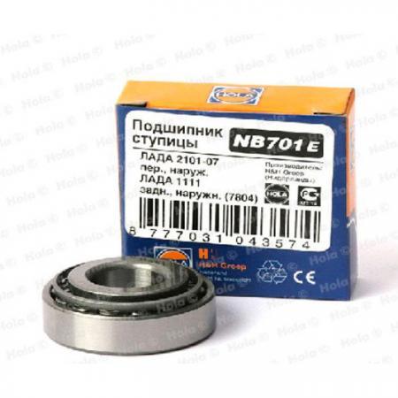 Подшипник 7804 передней ступицы наружный ВАЗ-2101-07  NB701E