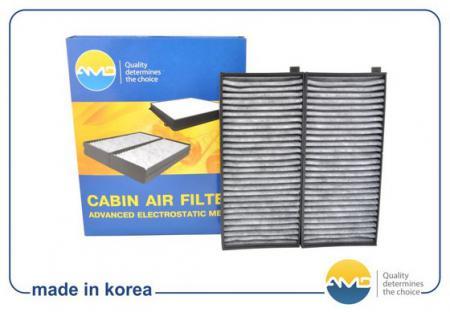 Фильтр салонный (2шт) 0K2N16152X (угольный) / AMD.FC11C AMD KIA (Spectra ИЖ, Shuma II, Sephia II, Care AMDFC11C