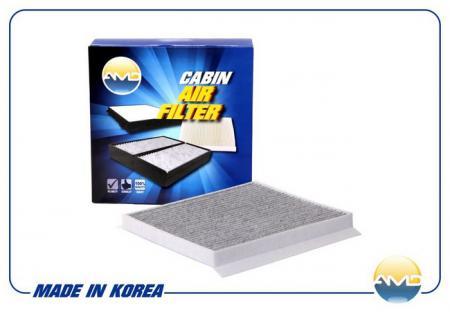 Фильтр салонный 97133-2H000 (угольный) / AMD.FC32C AMD HYUNDAI (I30 07- ELantra 07-) AMDFC32C