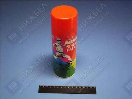 Краска-спрей АBRO стандарт оранжевая (473мл) 65R
