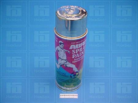 Краска-спрей АBRO алюминевая (473мл) 26R