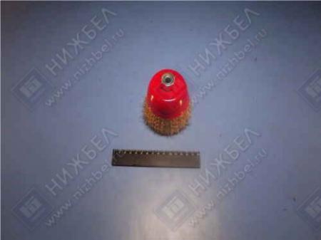 Щетка для УШМ 100 мм М 14 чашка металлическая MATRIX 74605