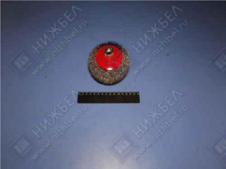 Щетка для УШМ 115 мм М 14 тарелка металлическая MATRIX 74612