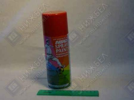 Краска-спрей АBRO стандарт красная (473мл) 73R