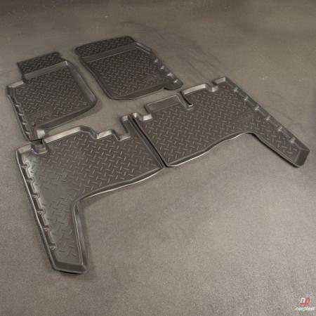Коврики салона полиуретановые с бортом, комплект TOYOTA T-LC-76 (Po) NPL-Po-8830