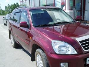 Дефлекторы окон 4 door TOYOTA RAV4 2000-2005/CHERY TIGGO 2005-, NLDSTORAV0032