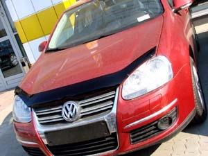 Дефлектор капота темный VW JETTA/GOLF V 2006-2010, NLD.SVOJET0612 NLDSVOJET0612