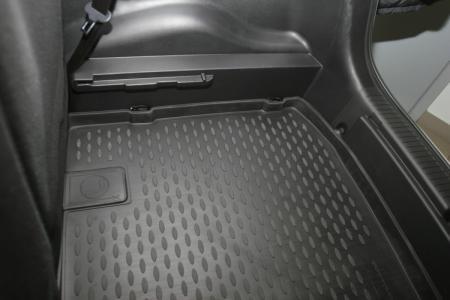 Коврик в багажник KIA Venga 2010->, хб. нижн. (полиуретан) NLC.25.34.BN11