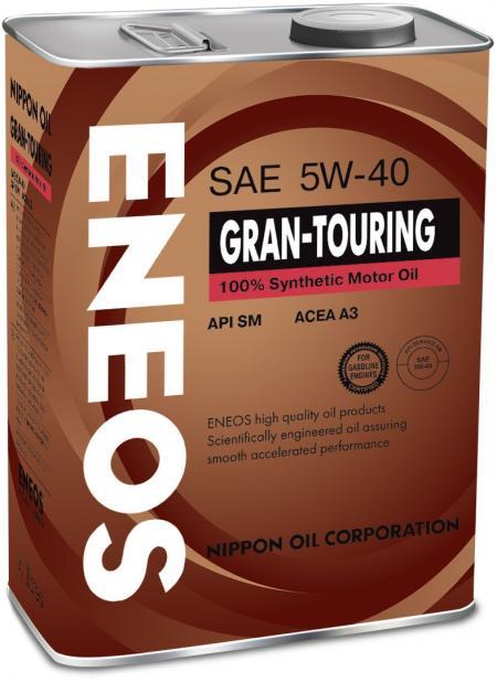 Масло моторное ENEOS GRAN-TOURING синтетика 5W40, 4л oil4066