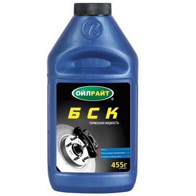 Жидкость тормозная БСК 455 мл 2649
