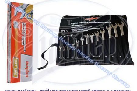 OMT16S Набор комбинированных ключей 8-32 мм, 16 предметов OMT16S