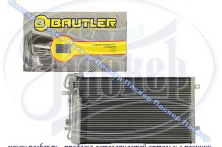 Радиатор кондиционера ВАЗ 2170-2172 «PRIORA» с ресивером, аналог Halla (2007-) BAUTLER BTL-0072ACR BTL-0072ACR