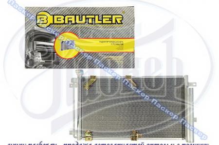 Радиатор кондиционера ВАЗ 2170-2172 «PRIORA» с ресивером, аналог Panasonic (2007-) BAUTLER BTL-0070A BTL-0070ACR