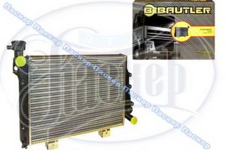 Радиатор 2105, 07 BAUTLER алюминиевый универсальный BTL0007 BTL0007