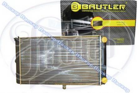 Радиатор 2112 BAUTLER алюминиевый инжектор BTL0012 BTL0012
