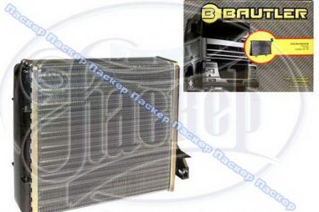 Радиатор печки 2101-07, ОКА BAUTLER алюминиевый BTL0006H BTL0006H