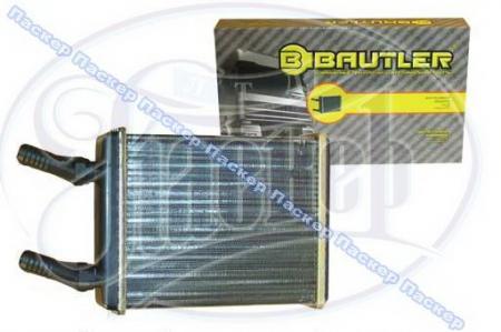 Радиатор печки 3110 алюминиевый BAUTLER BTL3110H Великобритания BTL3110H