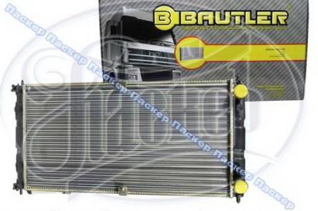 Радиатор 2123 Chevy Niva BAUTLER алюминиевый BTL0023 BTL0023