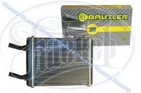 Радиатор печки 3102, 2410 алюминиевый BAUTLER BTL3102H Великобритания BTL3102H