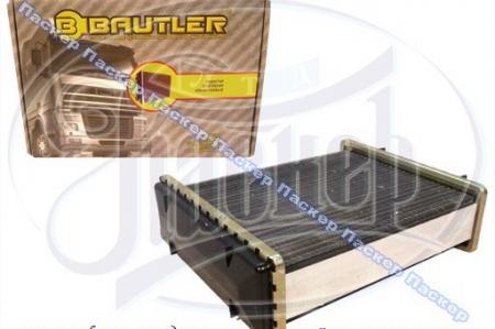 Радиатор печки 2106 BAUTLER алюминиевый узкий BTL0001H