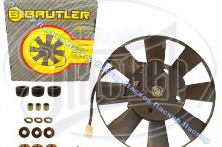 Мотор вентилятора 2103-08, 21, 10, ОКА BAUTLER с крыльчаткой 8 лопастей BTL0003FC