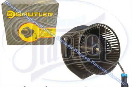 Мотор печки 2110 и мод, 2170 Priora, 2123, УАЗ 3160 с 09.2003г с крыльчаткой BAUTLER BTL0023FH