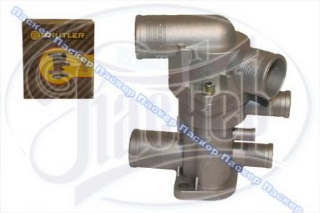 Термостат 21082, 2110, 2170 Priora BAUTLER инжекторный н/о 6 патрубков BTL-0084Т