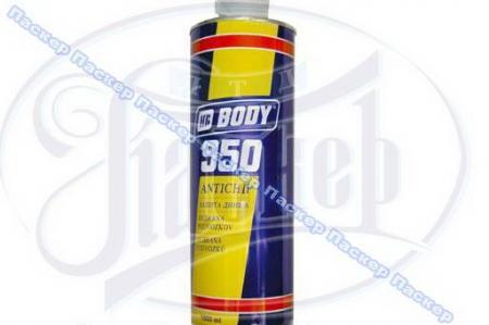 Антикоррозийное покрытие Антигравий Body 950 1л черный 44-015